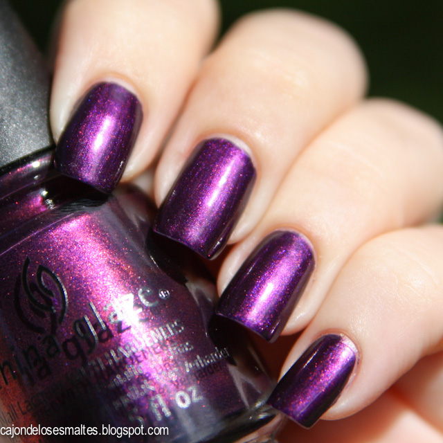 China Glaze - Let's Groove swatch reseña
