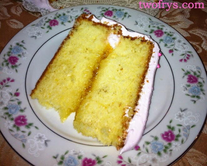 Two Frys Dominican Cake