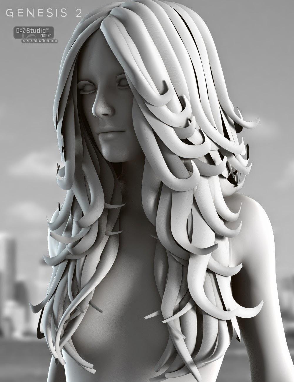 Floride cheveux pour Genesis 2 Femme