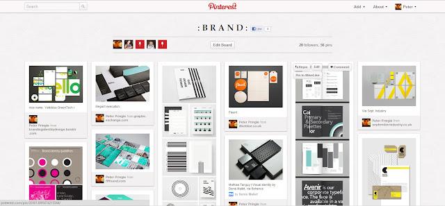 Pinterest Pin Board