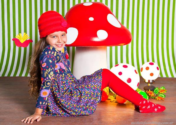 vestidos nenas otoño invierno 2014