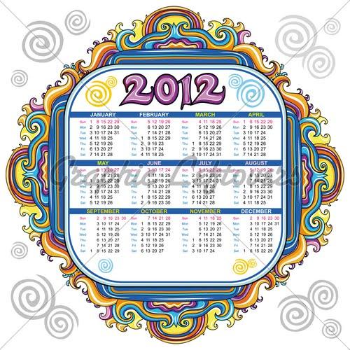 English Calendar Wallpaper : Happy new year calendar english
