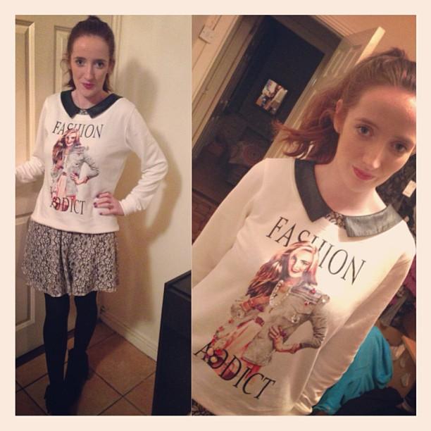 Cotton Face Vintage Shop Spiddal Party outfit