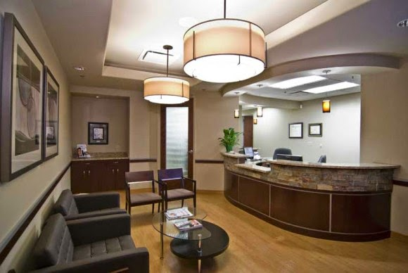 office reception area design idea