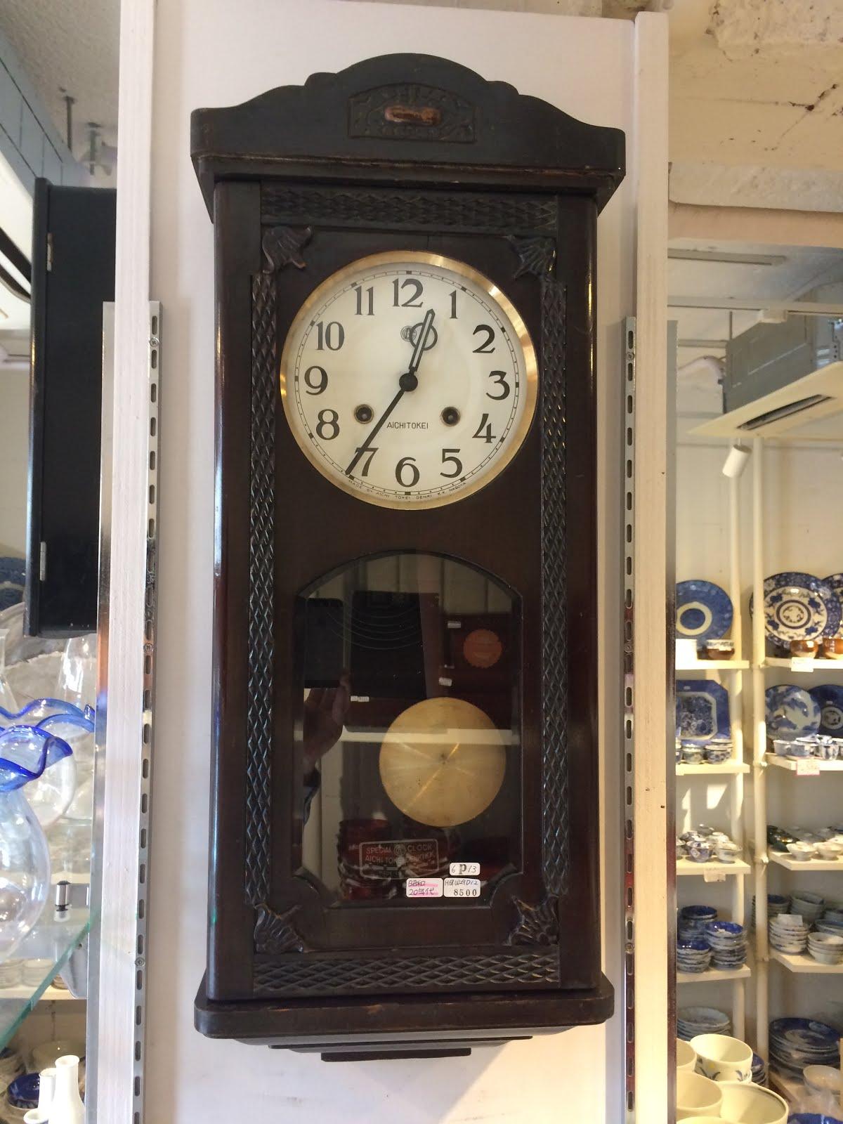 AICHI製掛け時計※昭和20年代