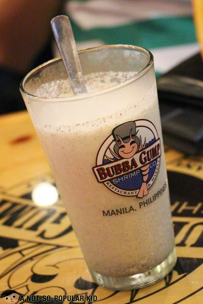 The Oreo Cookies and Cream Milkshake of Bubba Gump