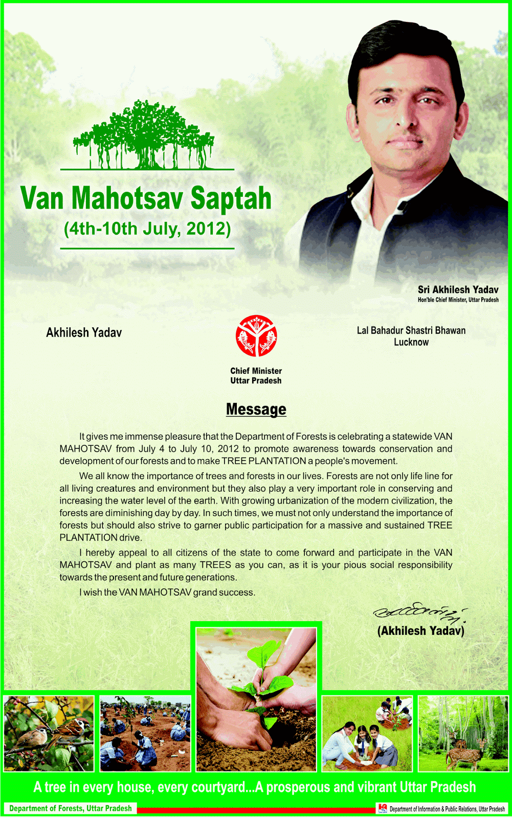 essay on van mahotsav
