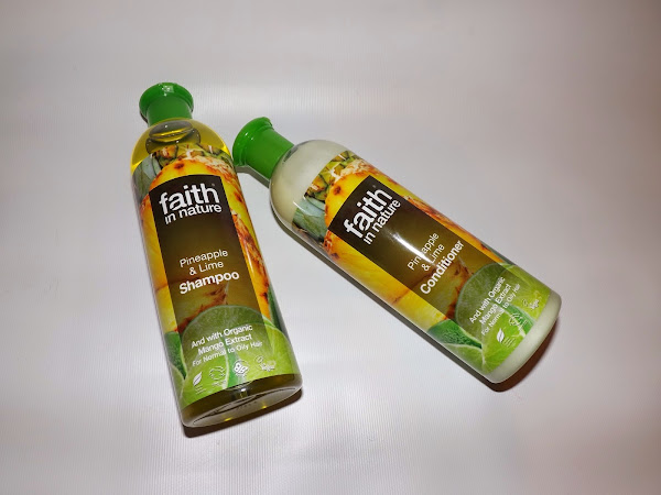 Review | Faith In Nature Pineapple & Lime Shampoo & Conditioner