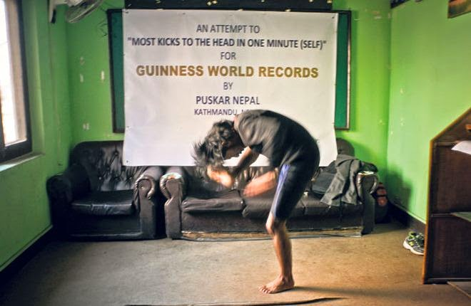 Puskar in Nepal Can Kick Himself Faster than anyone else Worldwide… we find out why!