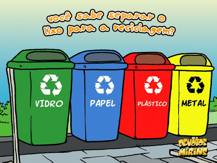 Opiniao Triunfo Reciclagem Do Lixo Seria Muito Importante Por