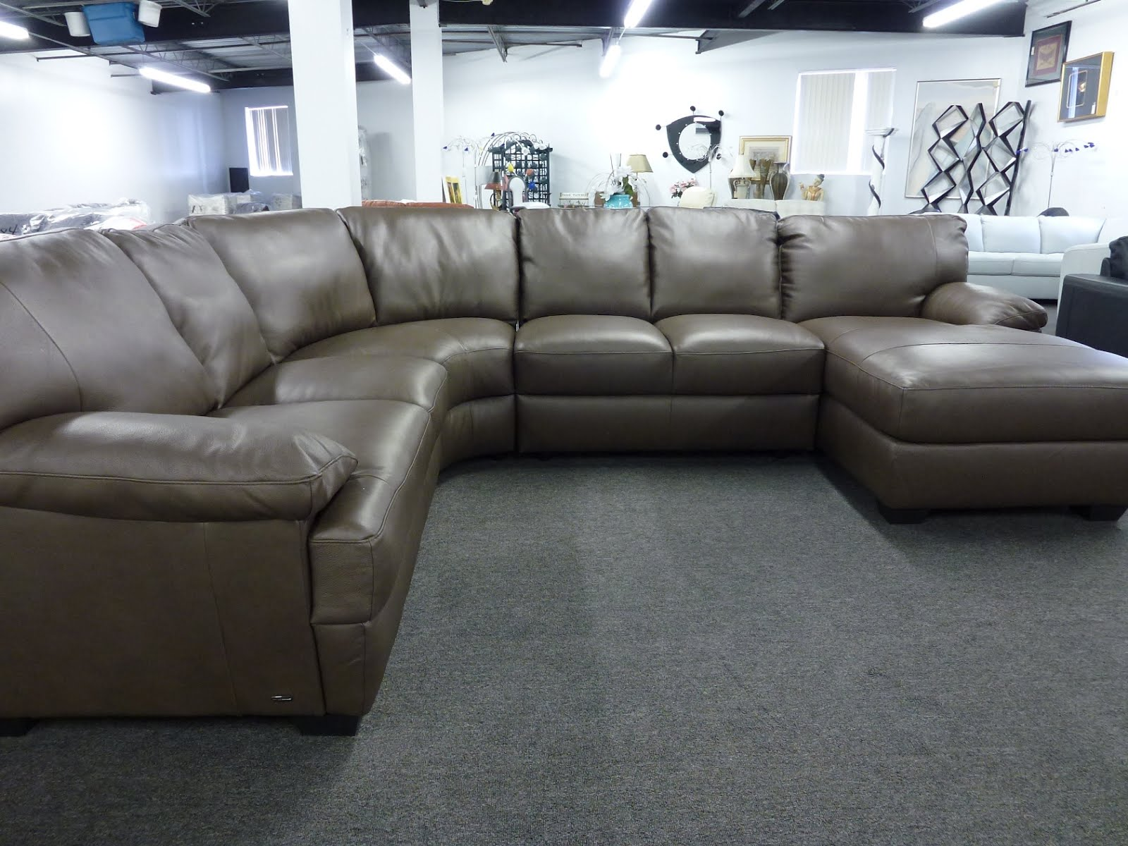 Natuzzi Leather Sectionals