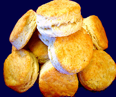 beans, biscuits and bread part two - cornmeal and buttermilk biscuits