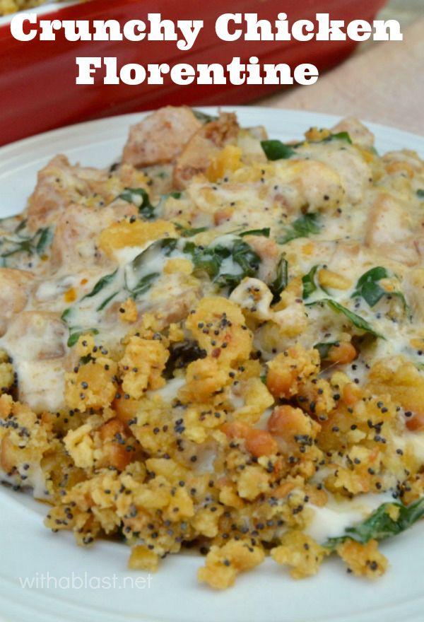 Crunchy Chicken Florentine