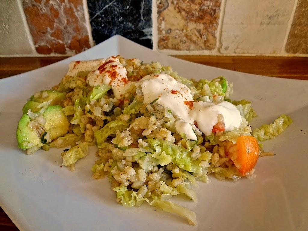 Savoy Cabbage Pilaf