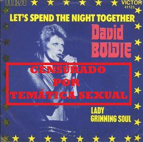 David Bowie Lets Spend The Night Together