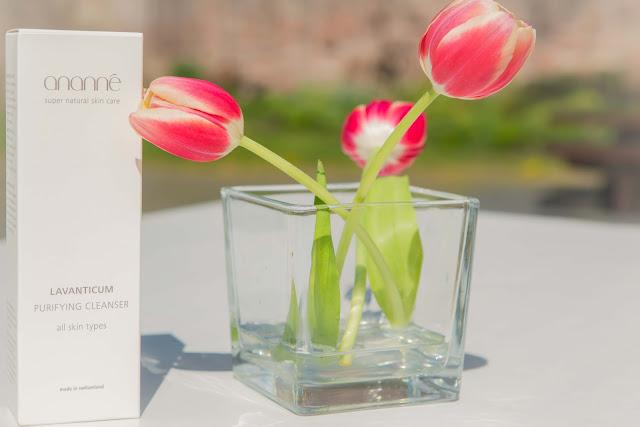 ananné hochwertige Naturkosmetik und Tulpen
