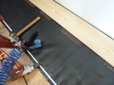 5 acres & a dream: new kitchen floor