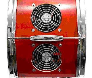 Корпус для системного блока в виде барабана