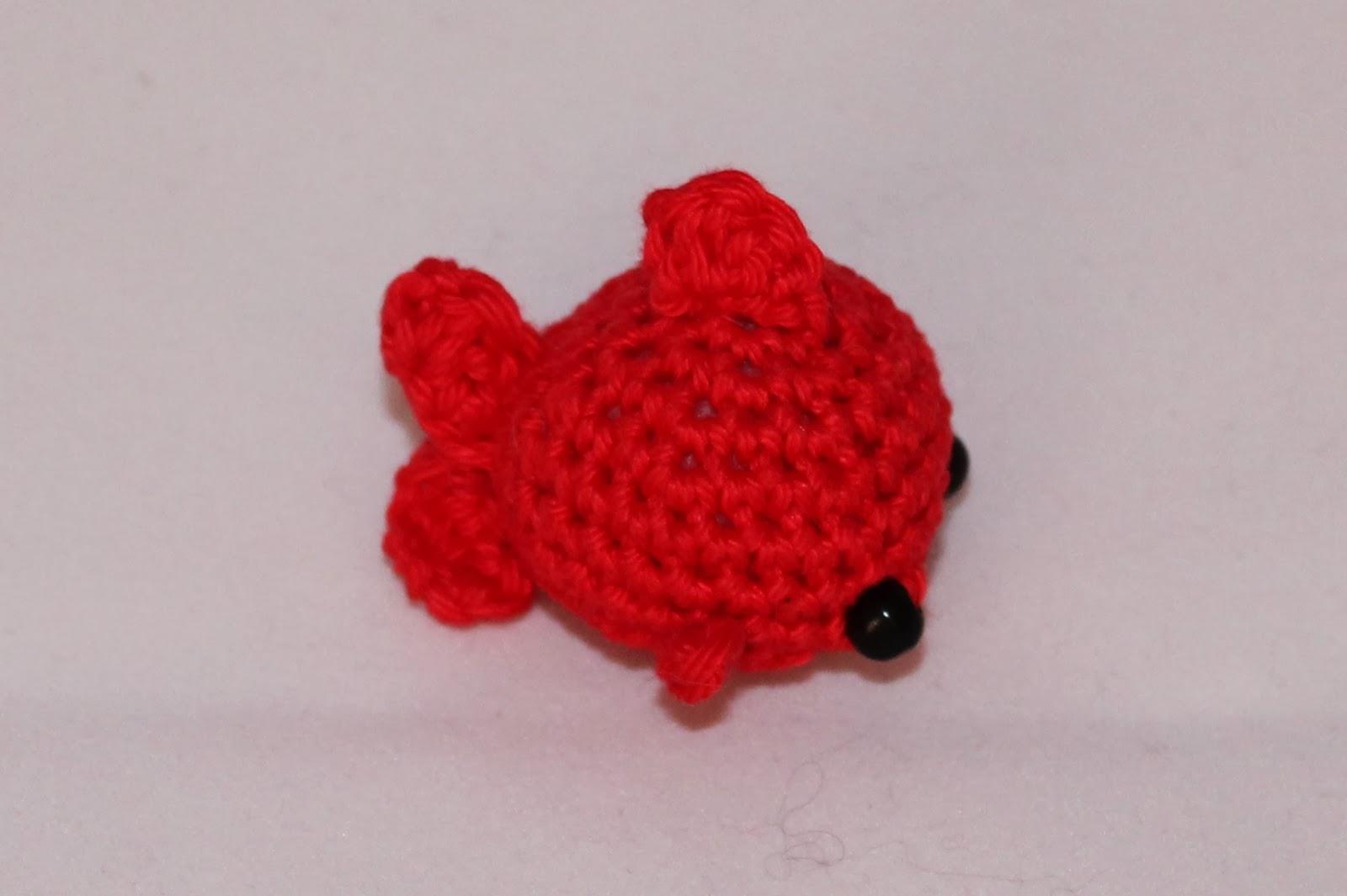 Doni handmade: Goldfish amigurumi pattern