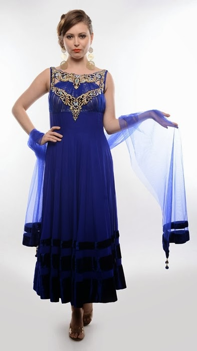 latest luxury clothes from india luxury dresses collection 2014 for