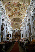 Basilica in Priory St Florian Austria