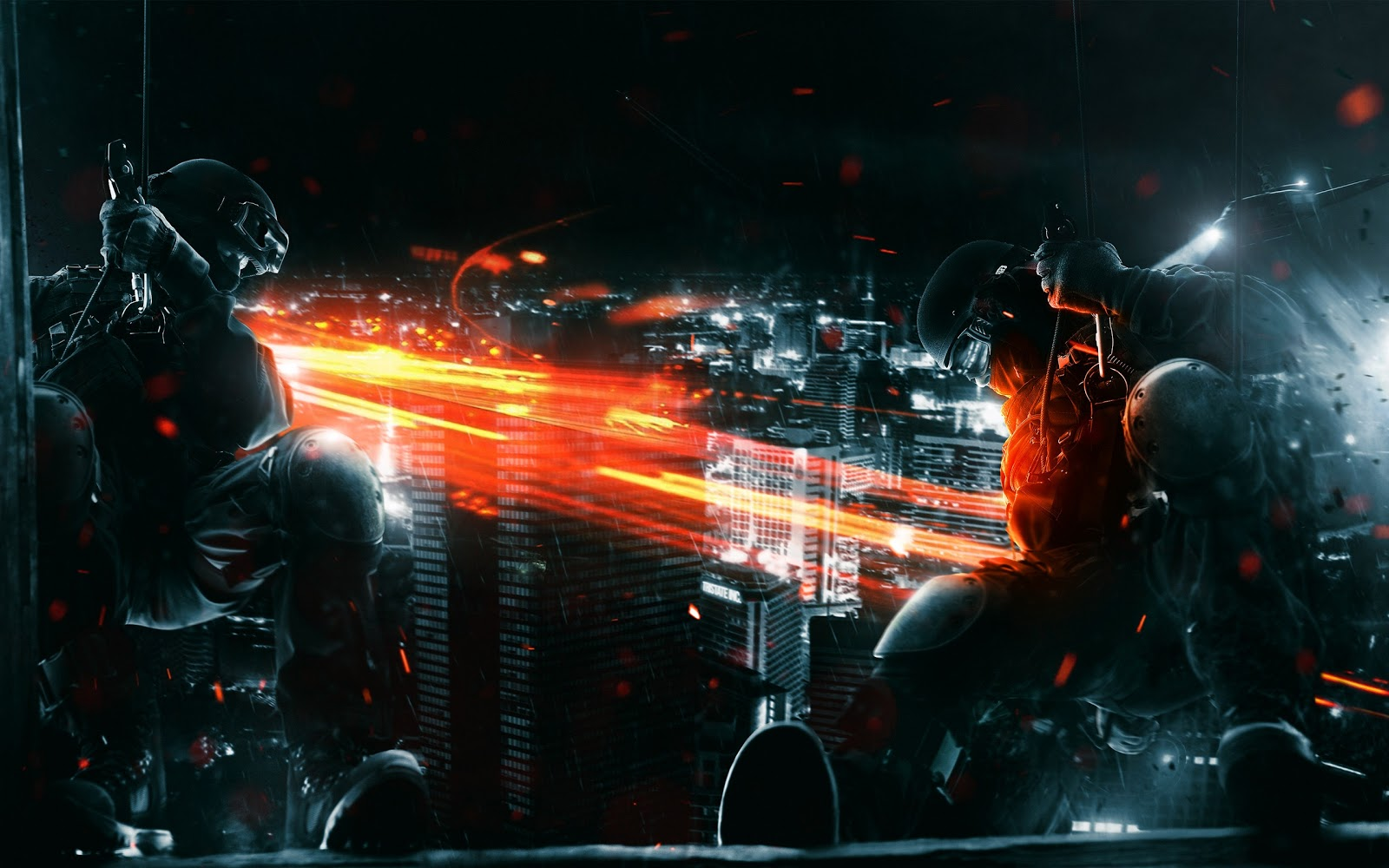 Battlefield 3 Game Wallpaper, Battle Field 3 PC Game Wallpaper, Battlefield 3 Spec Ops Wallpaper