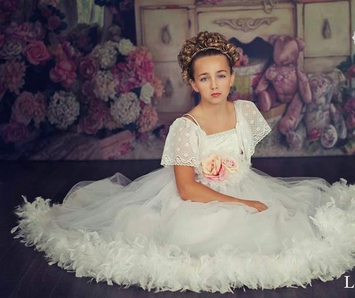 girls flower dresses