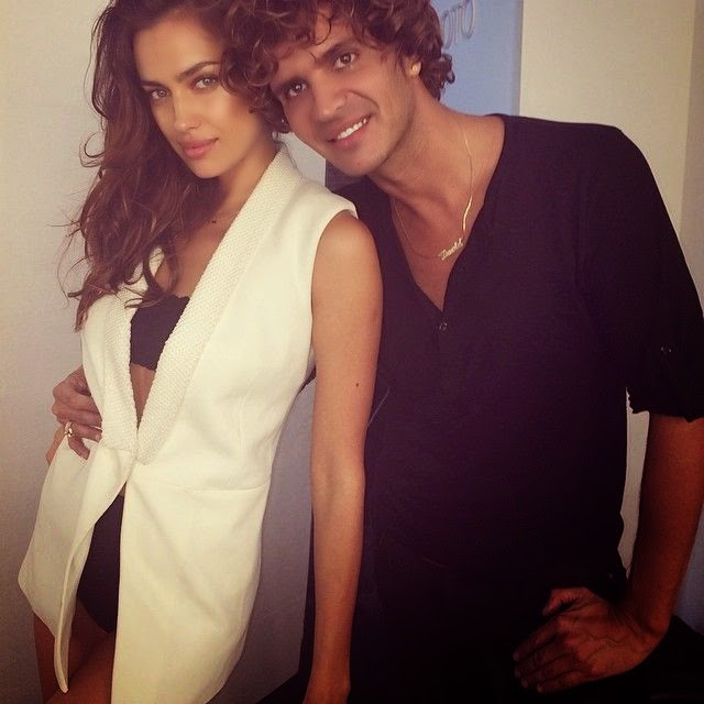 Irina Shayk shares a few images into her Instagram account on Tuesday, May 20, 2014