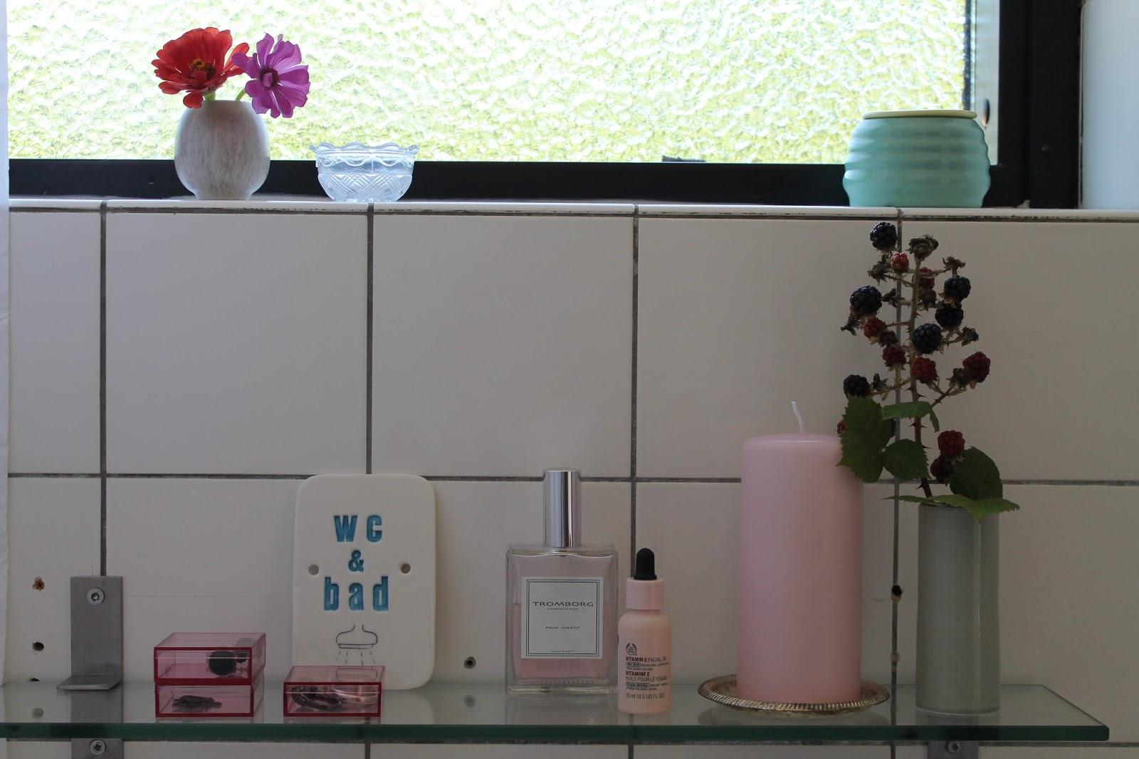 More delisious: før og efter af badeværelse