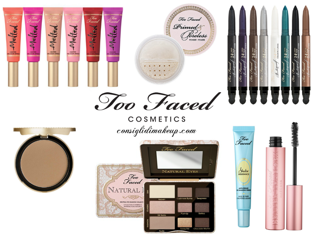 prodotti top too faced