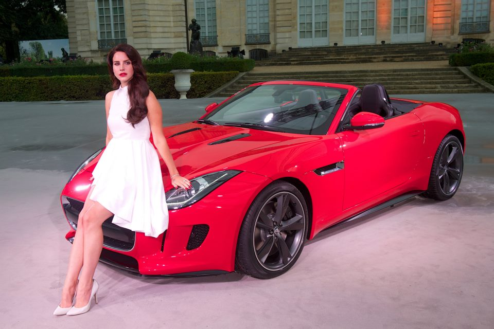 Lana Del Rey With The F TYPE