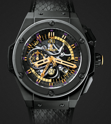 HUBLOT KING POWER BLACK MAMBA