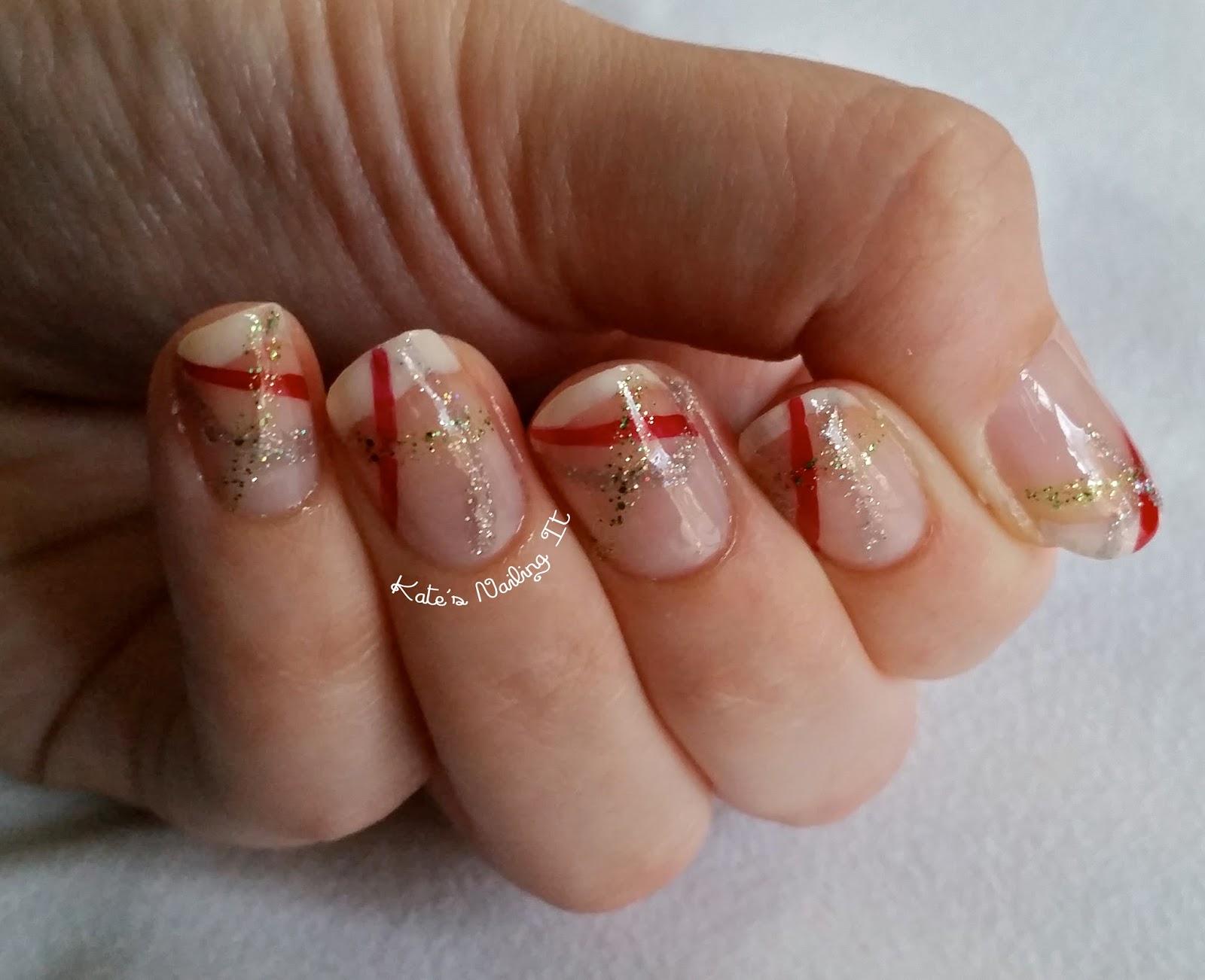 Kate\'s Nailing It: Winter Break Nail Art