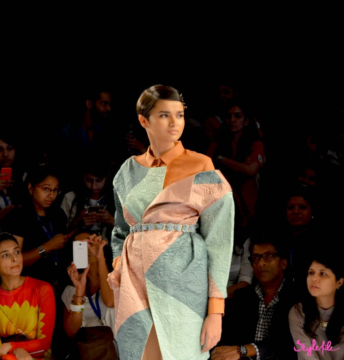 Lakme Fashion Week, LFW, Fashion Week, designer, model, pastel, short hair, pastel, ice-cream, summer, mint, archana rao