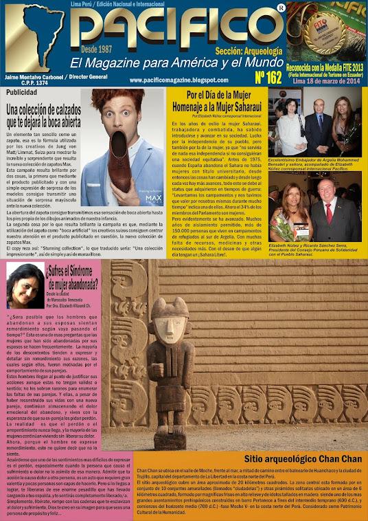 Revista Pacífico Nº 162 Arqueología