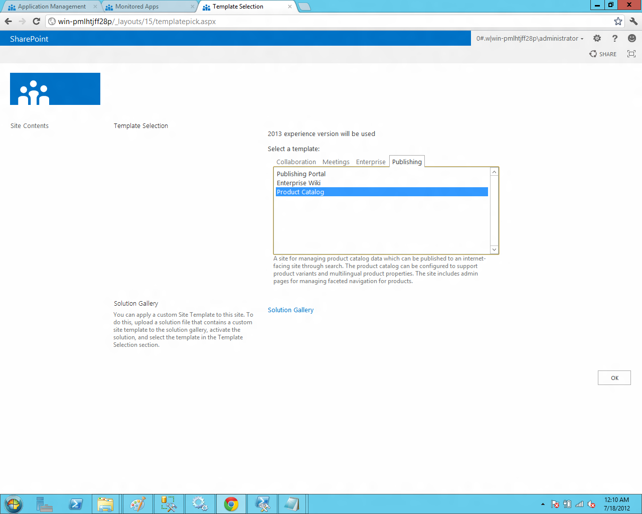 Bharath Tech Update Installing Sharepoint Server 2013 As Stand