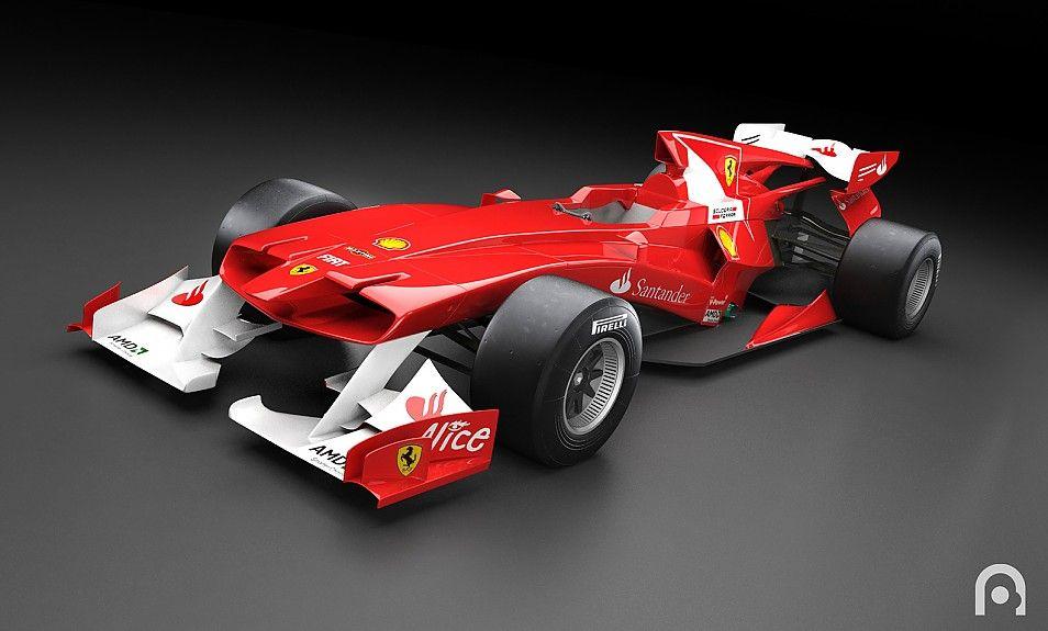 Ferrari f1 84