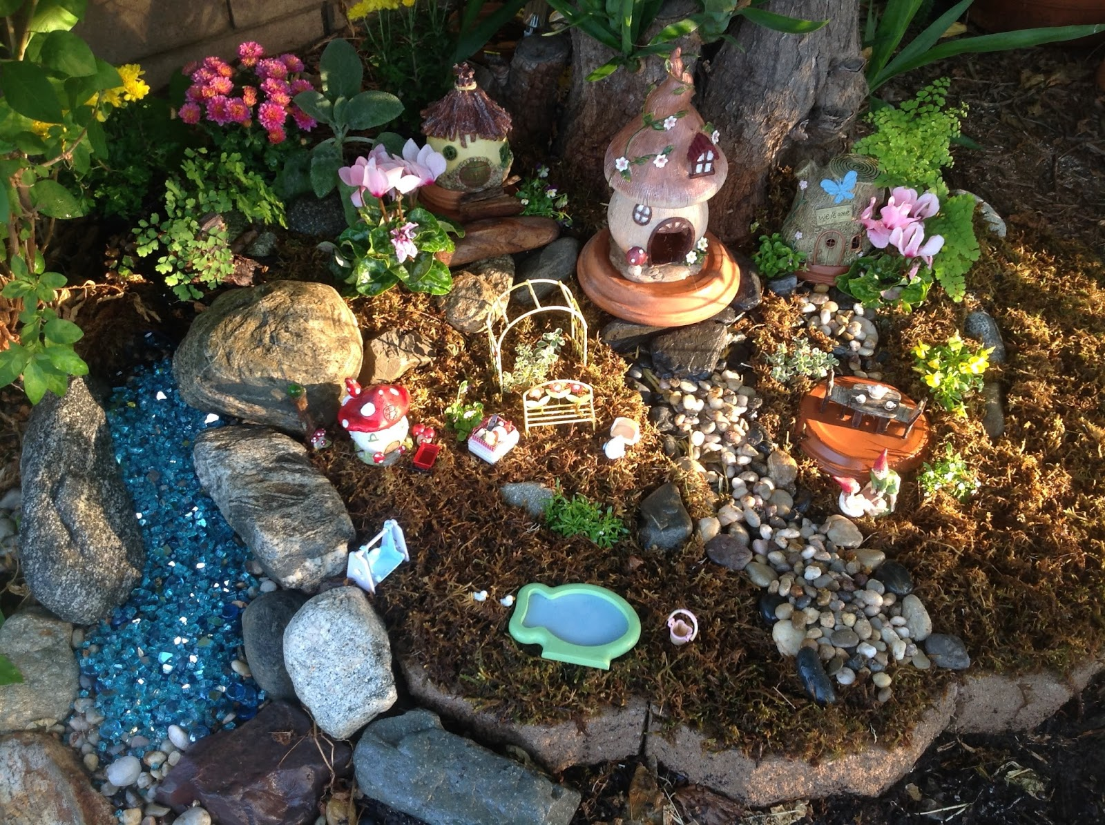 Fall Fairy Garden Tour: Updates