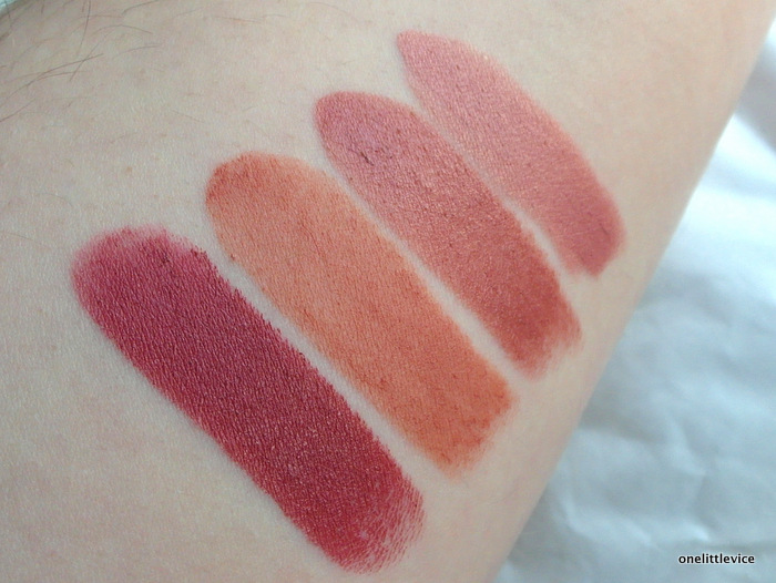 OneLittleVice Beauty Blog: dark nude lipsticks