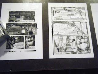 Conferenza stampa Mestre comics 2012: i tavolini raccontano il fumetto