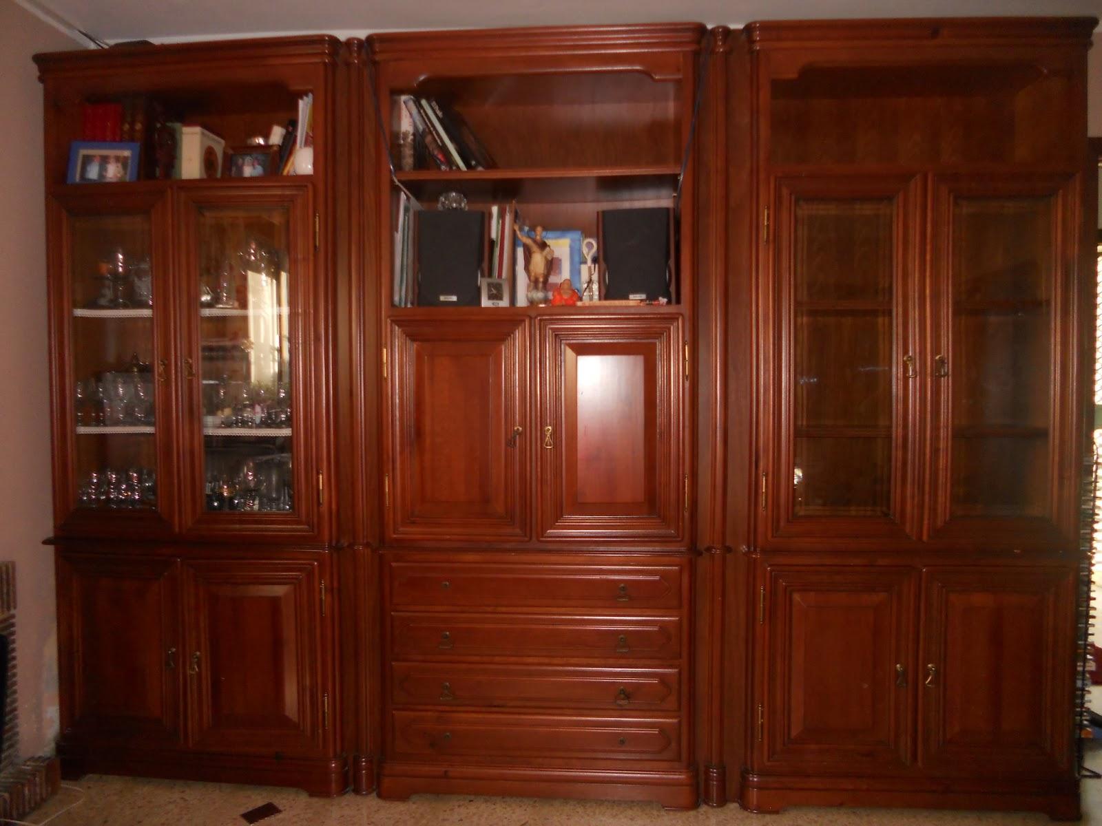 Artesare comedor restaurado for Muebles de comedor antiguos