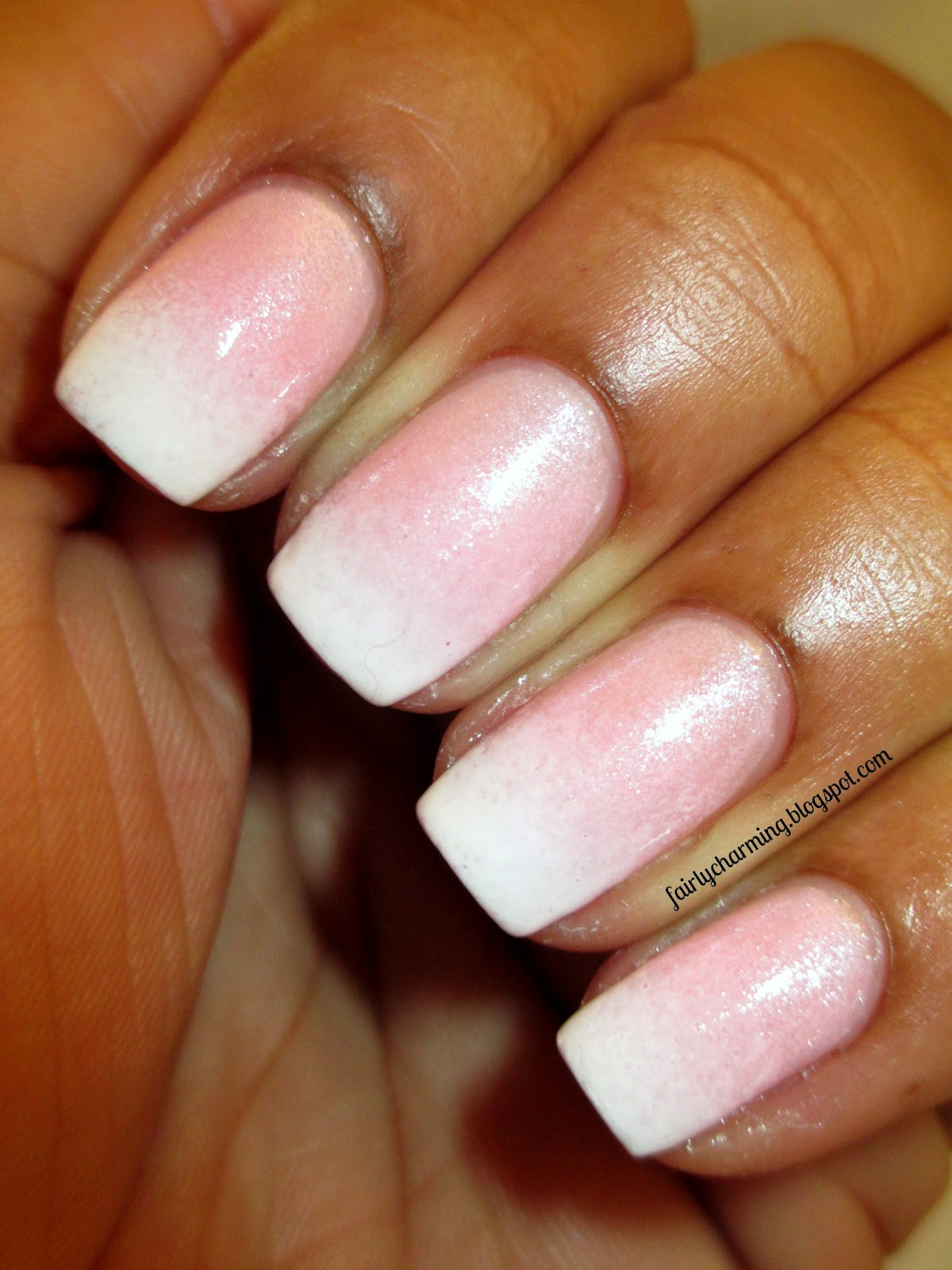 Fairly Charming: Nailed It\'s Faded French