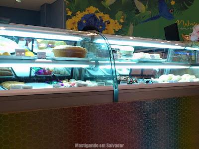 Maricota Café: Vitrine