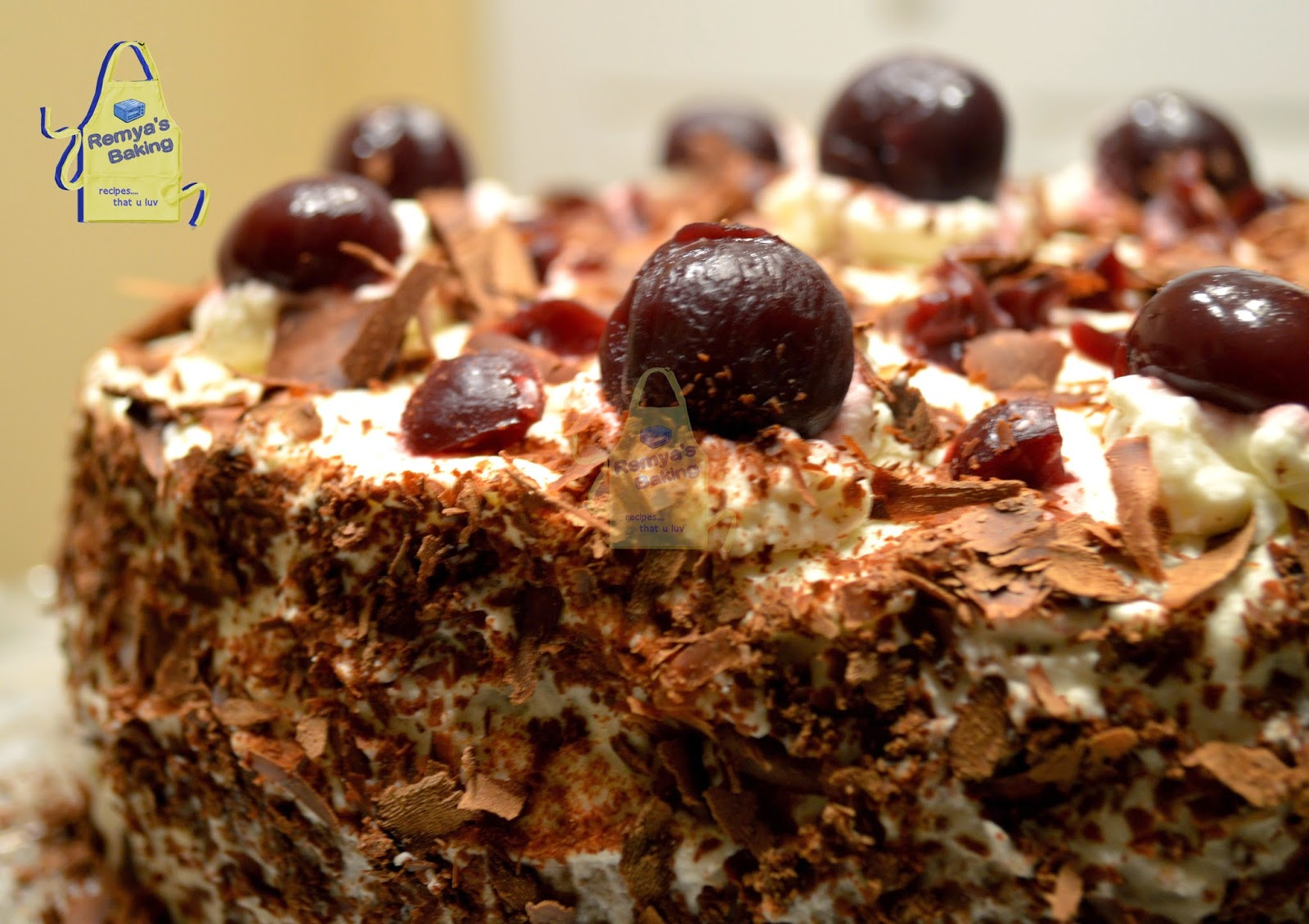 Black Forest Cake/ Gateau