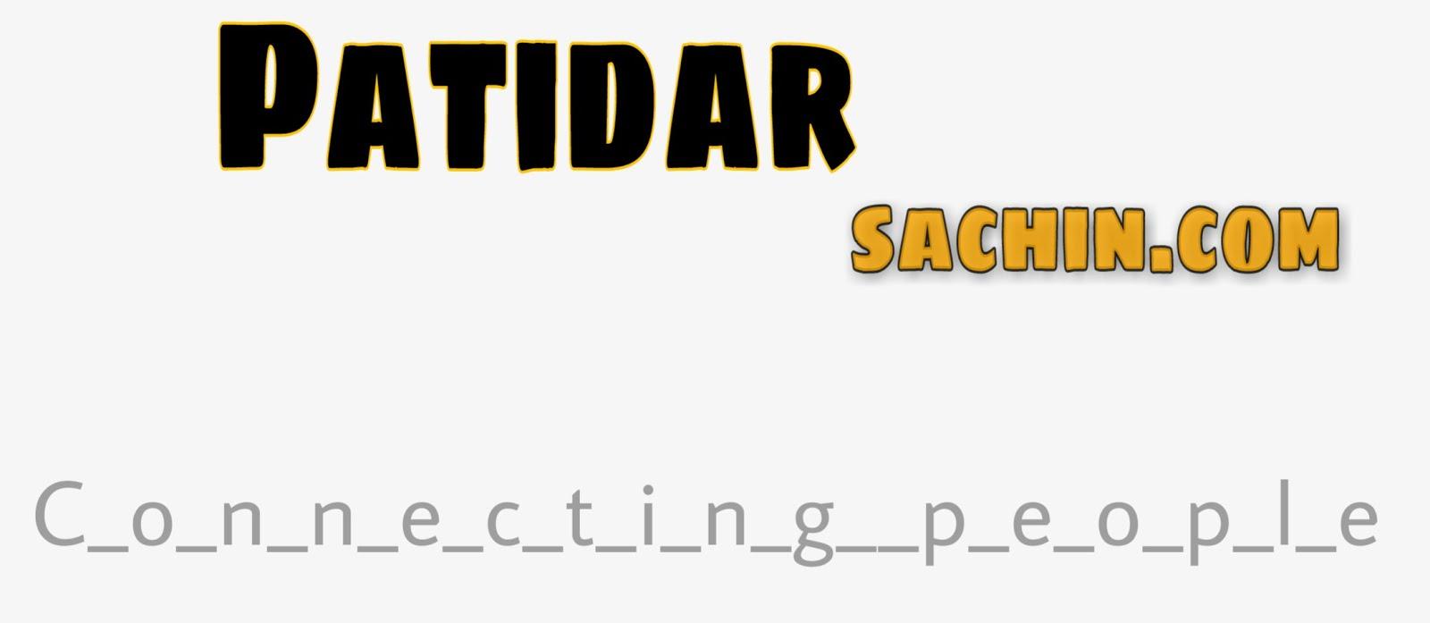 Patidar Sachin