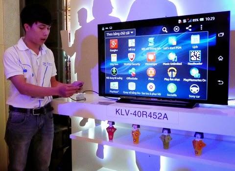Hướng dẫn kết nối mạng cho Tivi Sony qua wifi