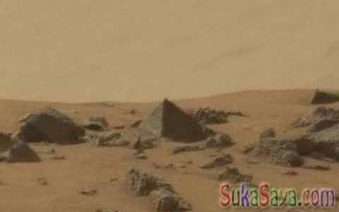 Misteri Planet Mars Ditemukan Piramida