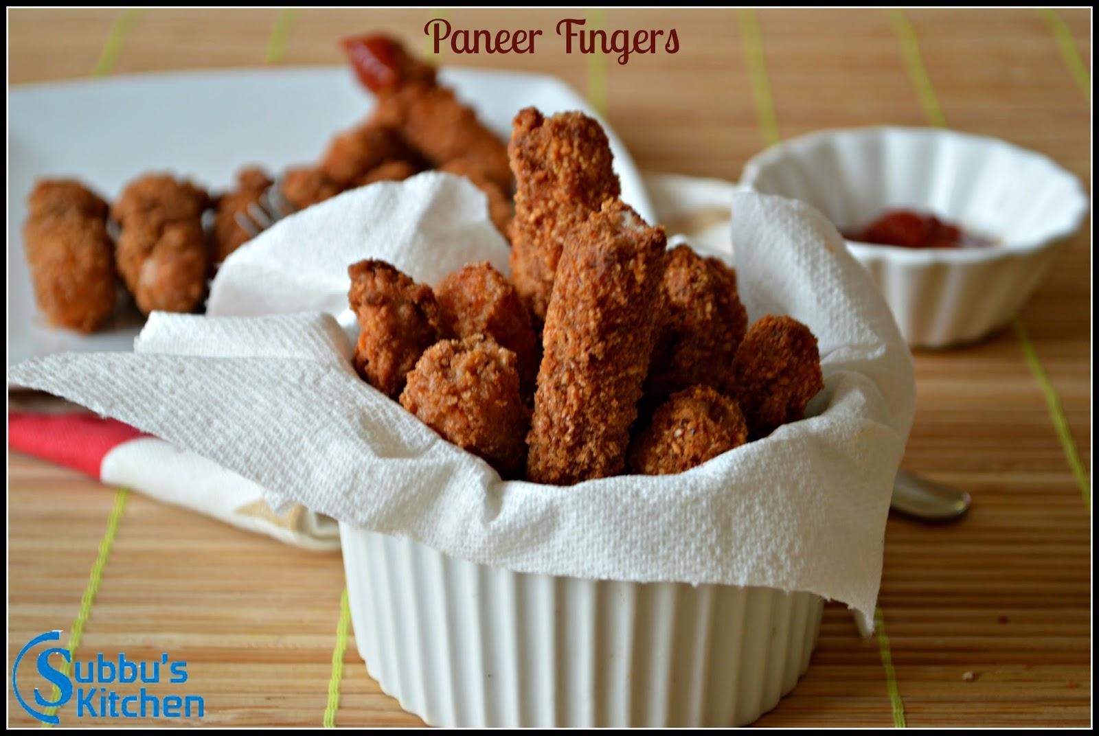 Paneer Fingers