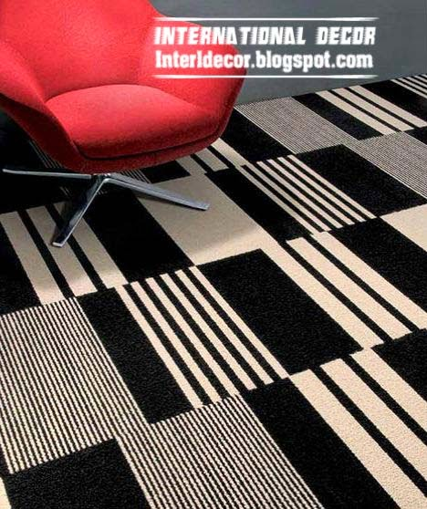 contemporary black and white area rug on floors contemporary area rugs
