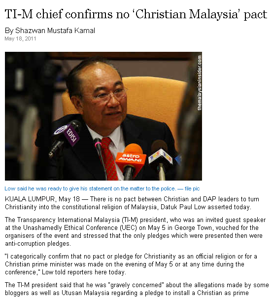 Malaysians Must Know the TRUTH: More DAP's attempts to mislead and ...